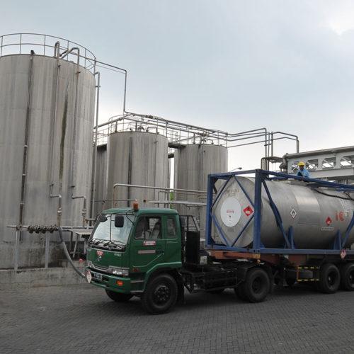 Polymer Storage Tank