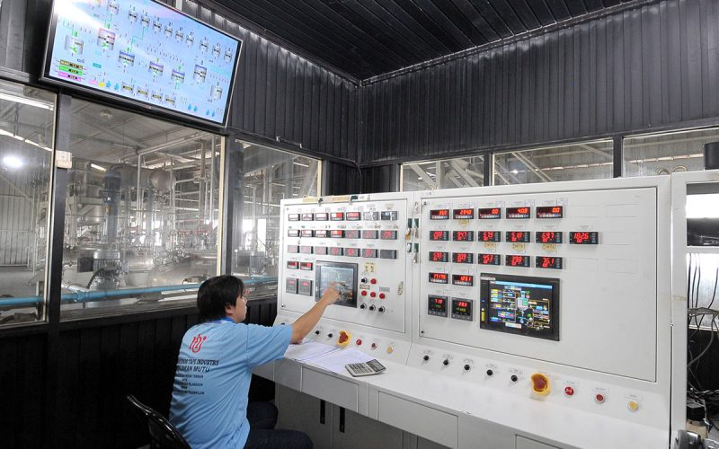 Polymer Control Room