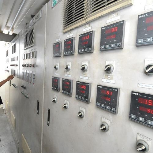 OPP Coating Control Panel