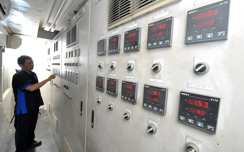 OPP Coating Control Panel